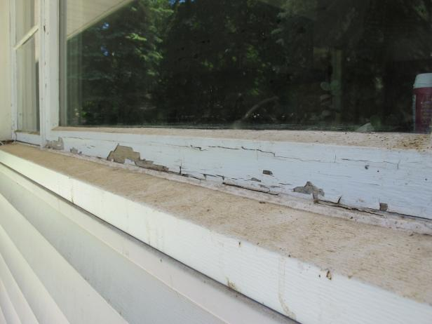 Learn how to paint a window exterior how tos diy - How to prep a house for painting exterior ...