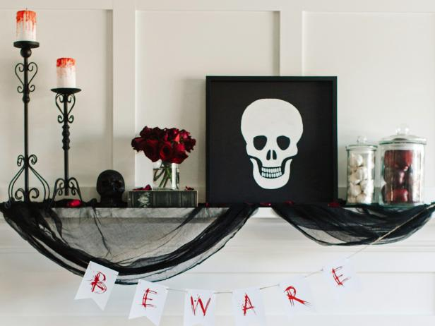 3 ways to decorate a fireplace mantel for halloween 16 photos - When To Decorate For Halloween