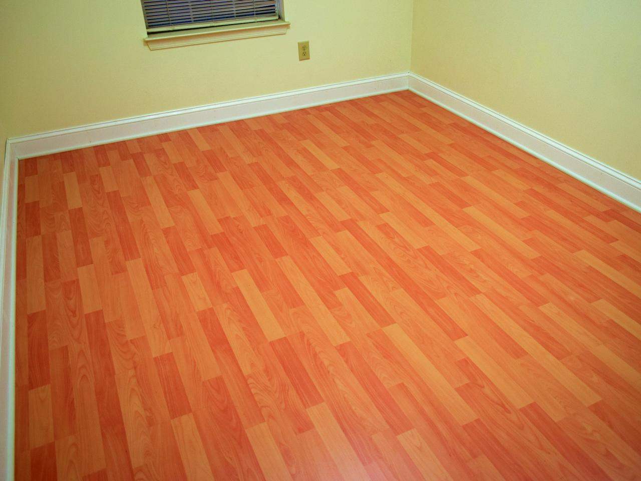 How to install a laminate floor how tos diy - Laminate or wood flooring ...