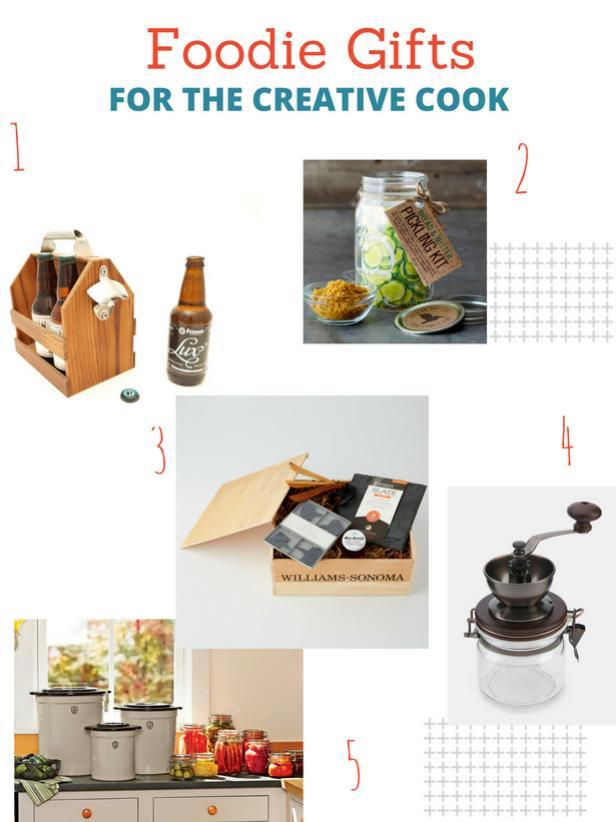 DIY Foodie Gift Guide