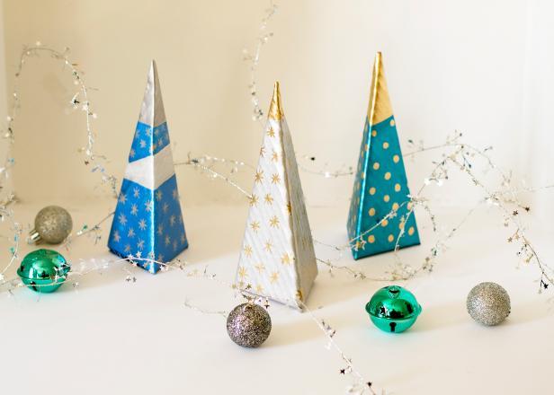 Modern Mini Christmas Trees