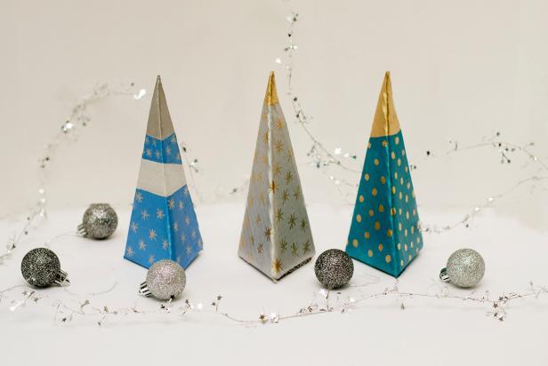 Mini Modern Christmas Trees