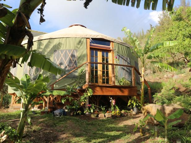 Amazingly Peaceful Hawaiian Yurts Love Yurts Diy