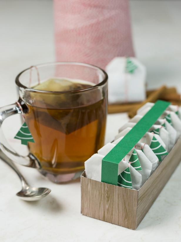 Make a Tea Bag Holiday Gift