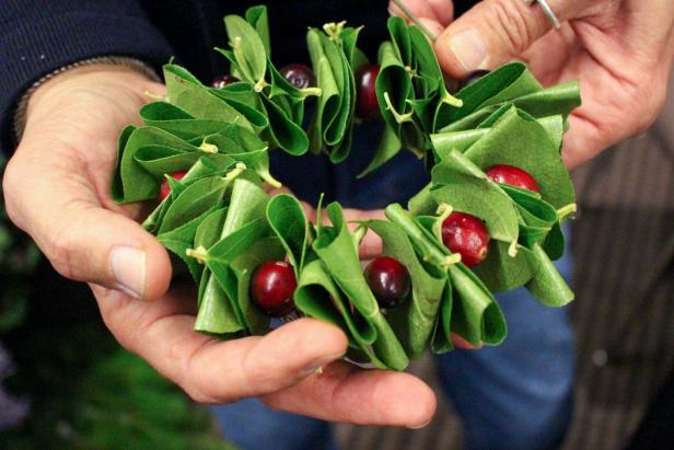 Holiday Mini Wreath
