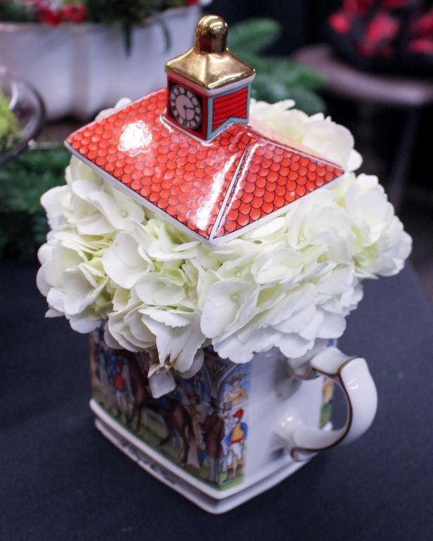 Teapot Flower Design