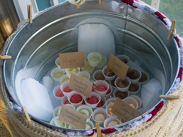 How To Keep Ice Cream Frozen At An Outdoor Party Diy