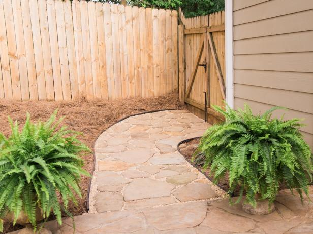 DIY Flagstone Path