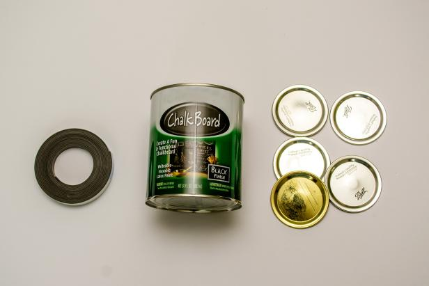 Supplies to Make Canning Lid Magnets