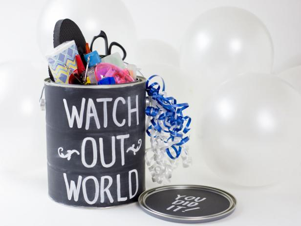Make a Graduate Survival Kit Gift