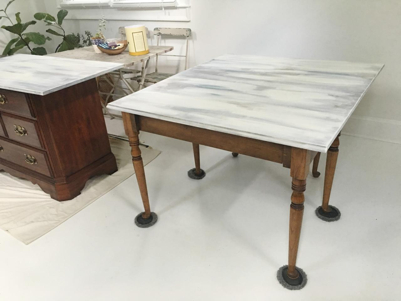 Ways to reuse and redo a dining table diy network blog made get to work with a new desk geotapseo Choice Image