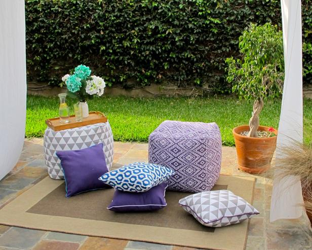 How To: Outdoor Pillows & Cushions