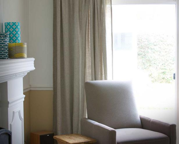 How To: Linen Window Treatment