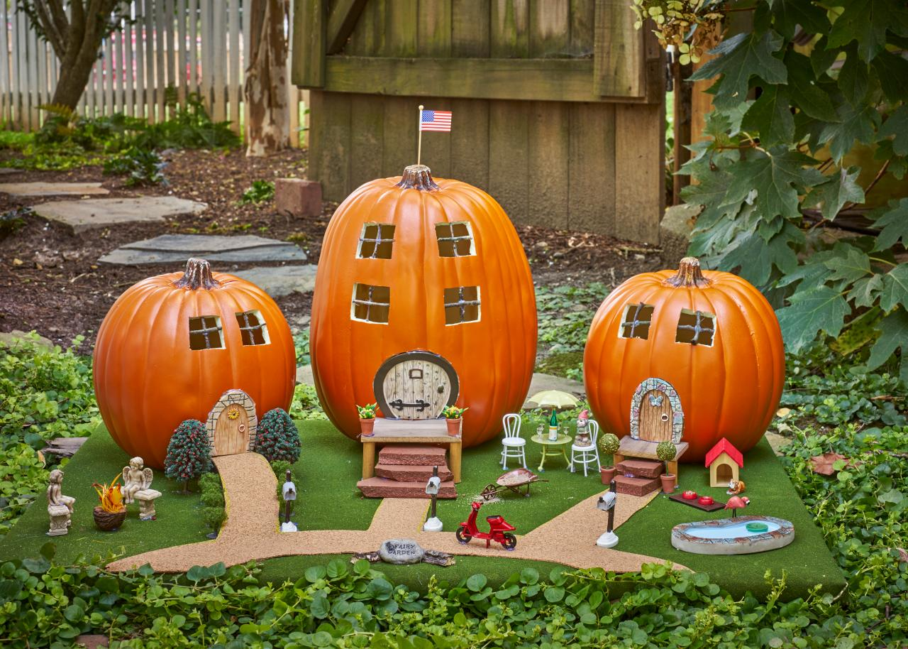 Image result for village out of pumpkins