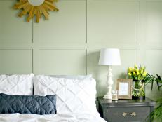 Create a Painted Square Wall