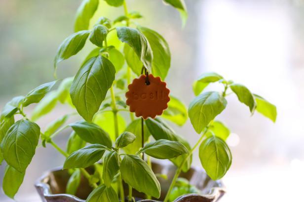 Create Clay Garden Markers