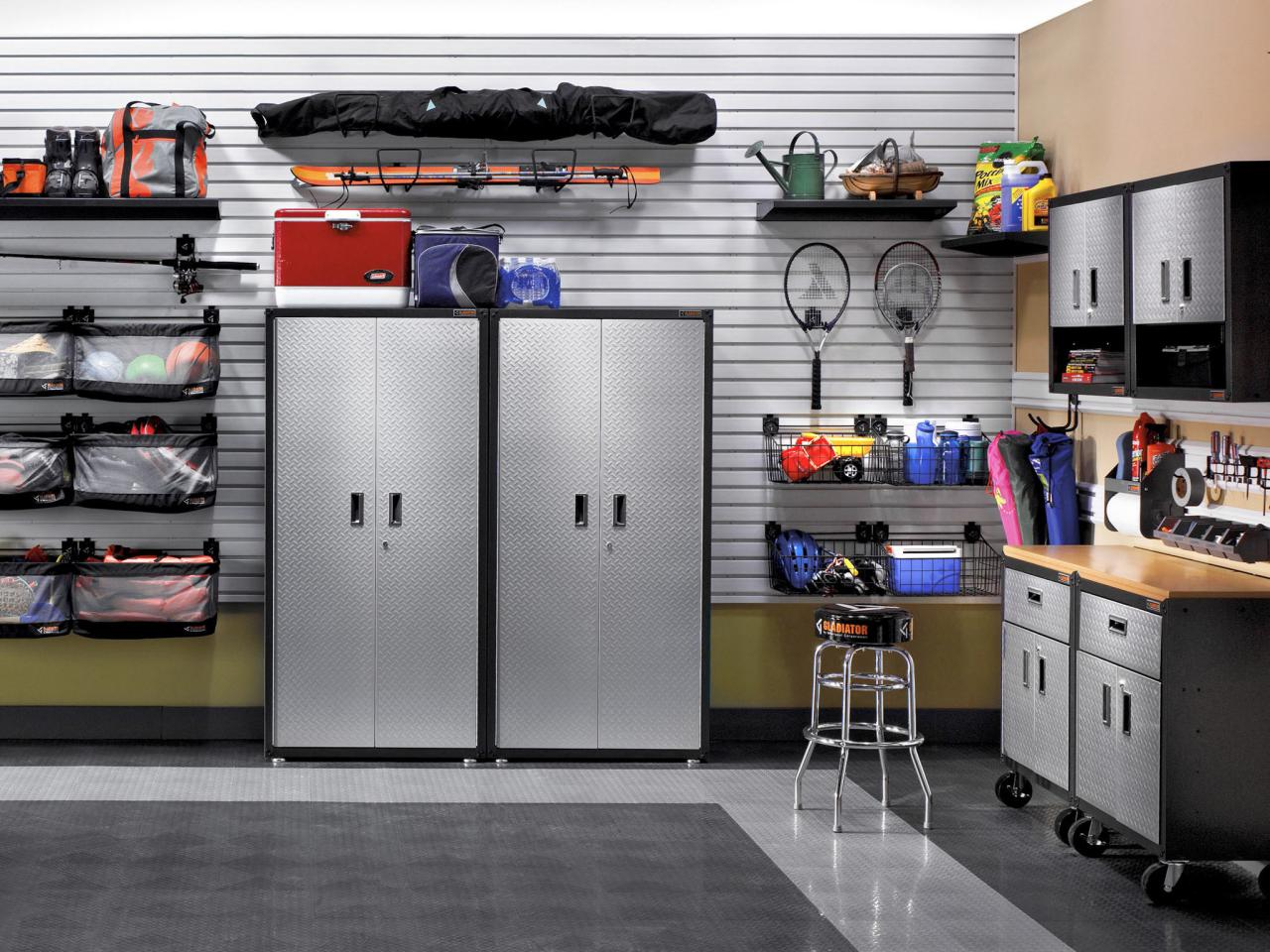 Great tips for garage organization diy network blog for How to make a small garage