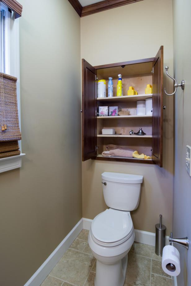 Small space bathroom storage ideas diy network blog made remade diy - Small bookcases for small spaces design ...