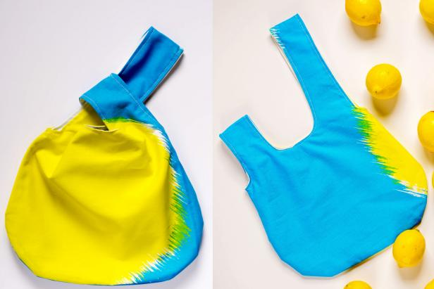 Easy DIY Reversible Make Knot Bags