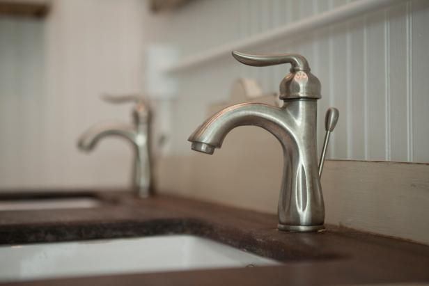 Bathroom Double Vanity Countertop and Faucet