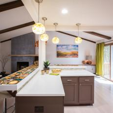 Contemporary Open Kitchen