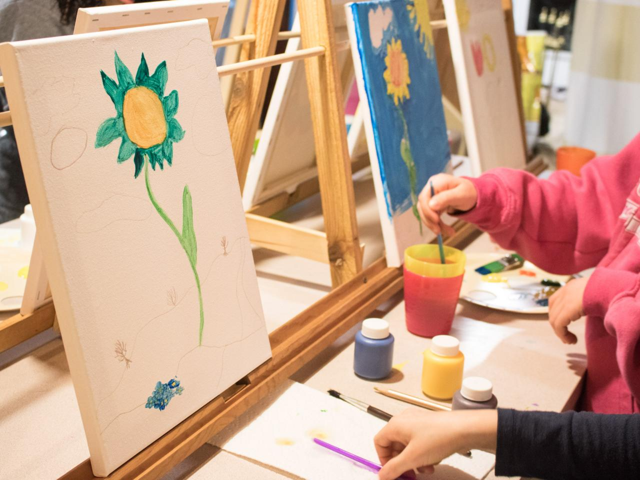 How To Host A Kid Friendly Painting Party