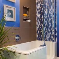 Bathroom with Combination Bathtub Shower