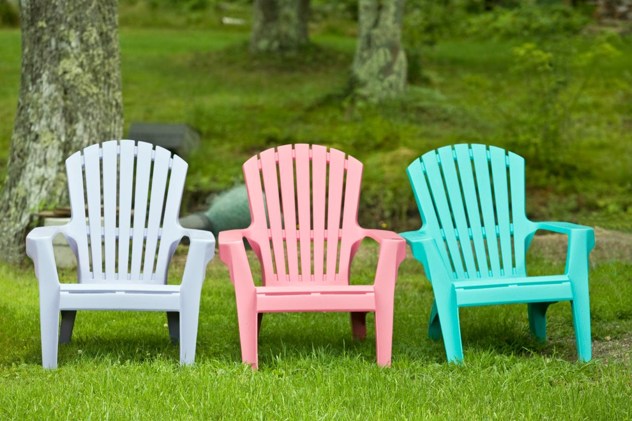 Cleaning outdoor furniture diy for Plastic garden furniture