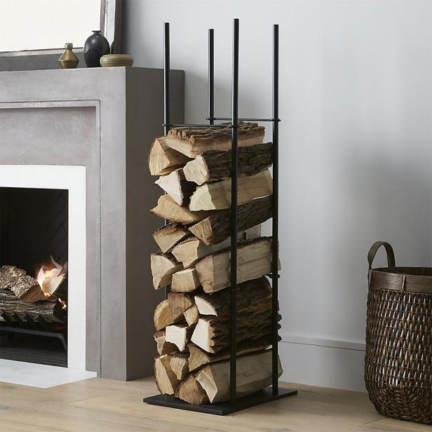 pretty firewood storage ideas diy network blog made remade diy. Black Bedroom Furniture Sets. Home Design Ideas