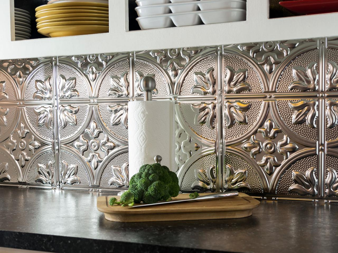 Photo by: Sam Henderson - How To Install A Tin Tile Backsplash How-tos DIY