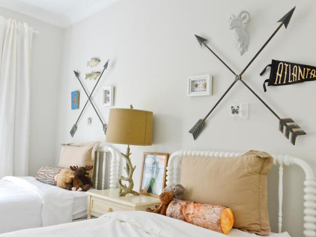 Eclectic Boy's Room Decor