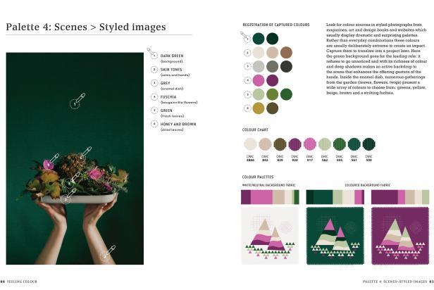 Creative Genius Karen Barbé Colour Confident Stitching Inside