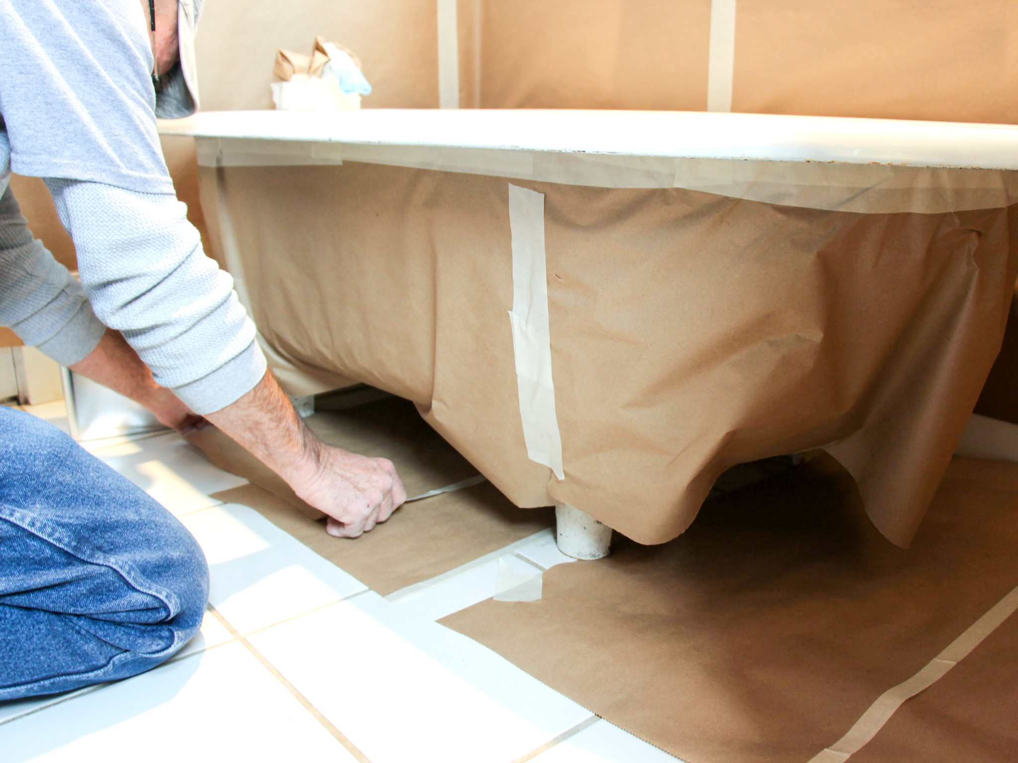 Wonderful Bathtub Refinishing Company Tiny Bathroom Refinishers Rectangular Bathtub Repair Refinishing Young Surface Refinishing OrangeTub Reglazing Cost How To Refinish A Bathtub | How Tos | DIY