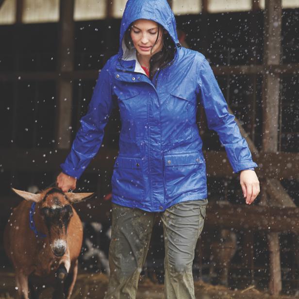 Drop Stop Rain Coat