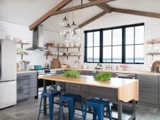 Stylish Open Kitchen