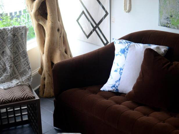 Indigo Dyeing DIY Pillowcase