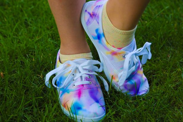 Take Your Tie Dye Shoes for a Spin