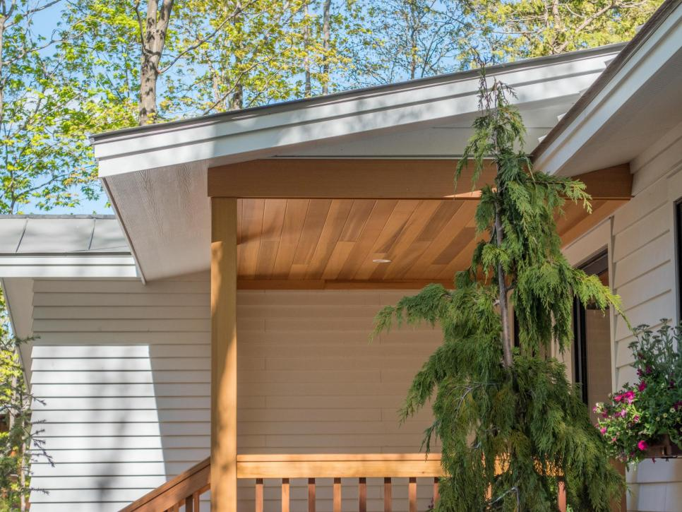 How To Install A Charming Cedar Porch Ceiling Diynetwork