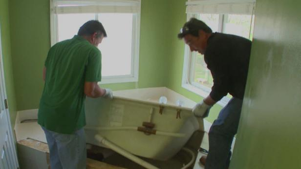 Removing A Whirlpool Tub Video Diy