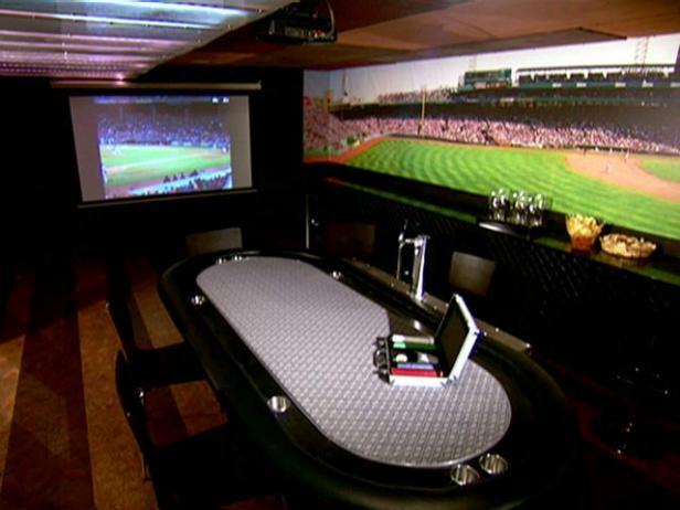 Sports Bar Basement Video DIY