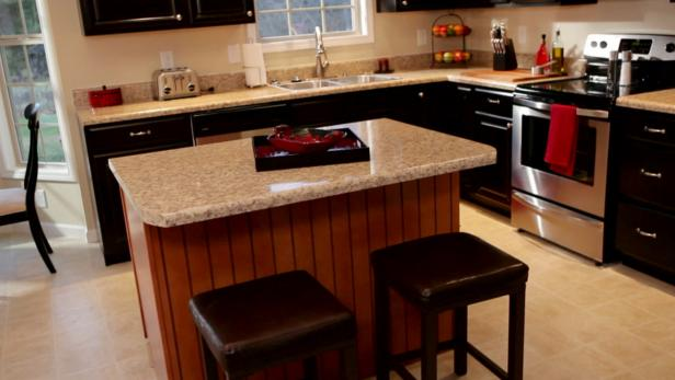 Creating A Kitchen Island Video Diy