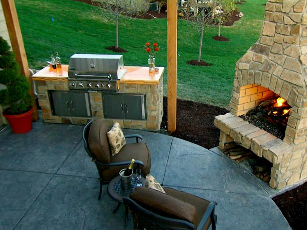 Outdoor Kitchen DIY Projects & Ideas