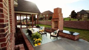 Install an Outdoor Fireplace