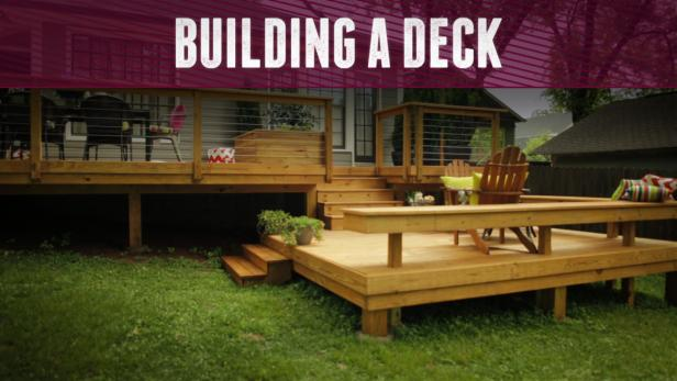 Building A Deck Video Diy