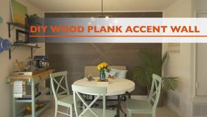 diy wood plank accent wall 0200 - Accent Wall Design Ideas