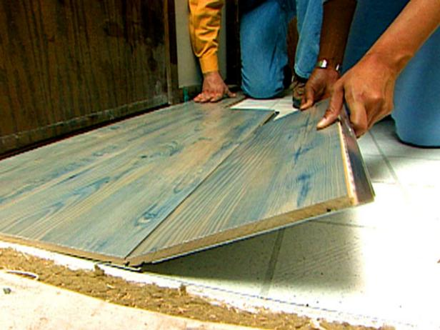 Laminate flooring diy - Laminate or wood flooring ...