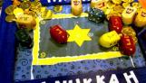 Festive Dreidel Game Board
