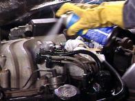 Car Engine Washing