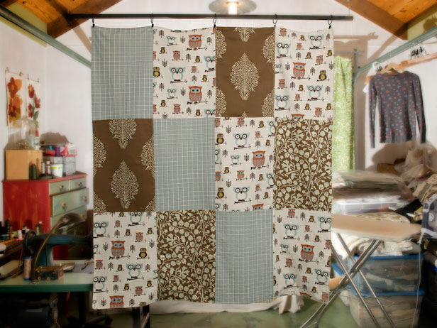 Diy Patchwork Quilt With Fabric Scraps Diy Network Blog