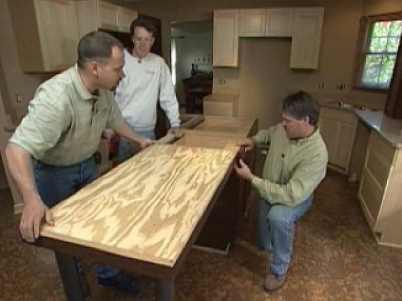 how to install kitchen island cabinets how to install a center kitchen island how tos diy 26886